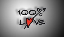 100 Percent Love Interactive Website Design Logo