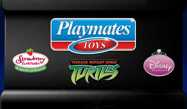 Playmates Toys Interactive Website Logo