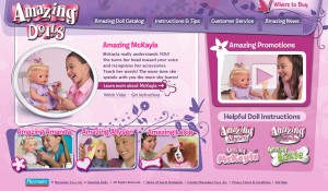 Playmates Toys Interactive Website 3