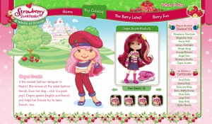 Playmates Toys Interactive Website 4