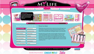 Playmates Toys Interactive Website 6