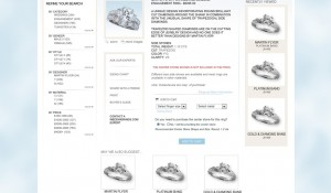 Wedding Rings E-Commerce Website Design 3