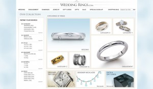 Wedding Rings E-Commerce Website Design 4