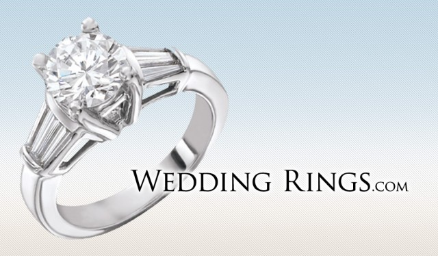 Wedding Rings E-Commerce Website Design Logo