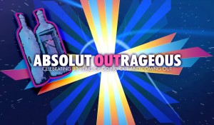 Absolut OUTrageous Custom Video Installation 2