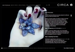 Circa Jewels Interactive Website Design 2