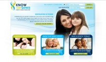 Know Your Genes Educational Non-Profit Website Design 3