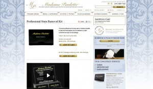 Madame Paulette Wordpress Website Design 2