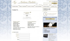 Madame Paulette Wordpress Website Design