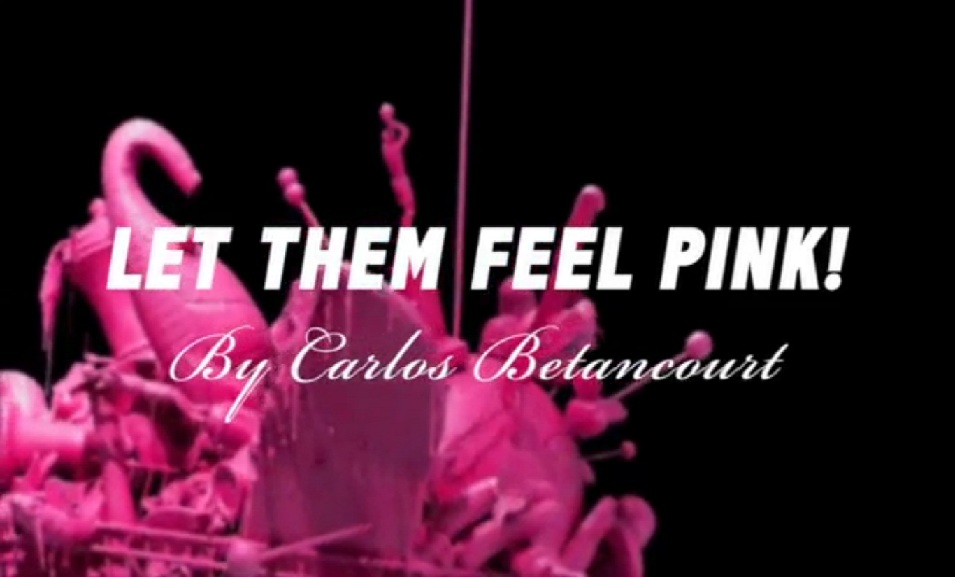 Absolut Let Them Feel Pink Custom Video Installation Title
